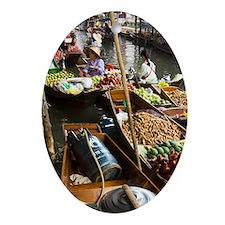 Damnoen Saduak Floating Market, 2 ho Oval Ornament