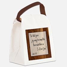 JOHN 15:11 Canvas Lunch Bag