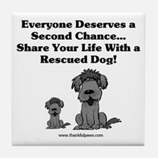 Second Chance Tile Coaster