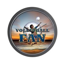 Top Prospect Volleyball Wall Clock