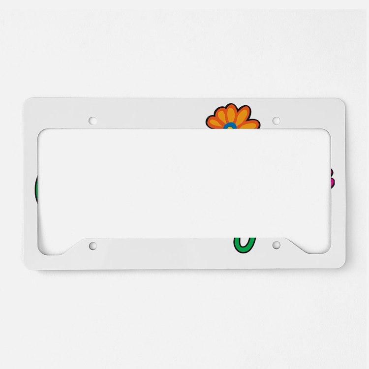 Carolyn License Plate Holder