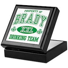 Brady Irish Drinking Team Keepsake Box