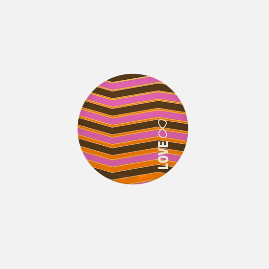 Love8 pillow Mini Button