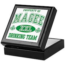 Magee Irish Drinking Team Keepsake Box