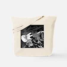 guitar splatterbackground Tote Bag
