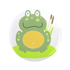 """Freddy the Frog 3.5"""" Button"""