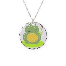 Freddy the Frog Necklace