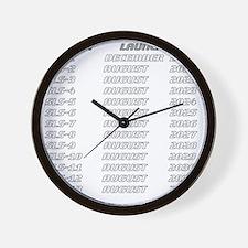 Future SLS Pilot - Back Wall Clock
