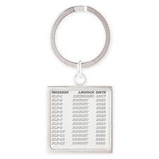 Future SLS Pilot - Back Square Keychain