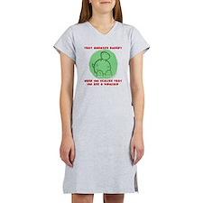 Awkward Dinosaur Women's Nightshirt