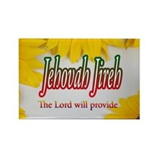 Jehovah Jireh Rectangle Magnet