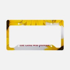 Jehovah Jireh License Plate Holder