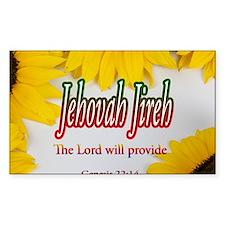 Jehovah Jireh Decal