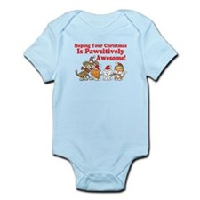 Dogs & Cats Pawsitively Awesome Christmas Infant B