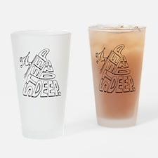 steep and deep Drinking Glass