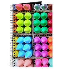 Flip flops Coloured crayons 2 Journal