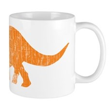triceratops_orange Small Mug