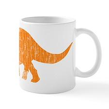 triceratops_orange Small Small Mug