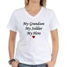My Grandson Soldier Hero Shirt