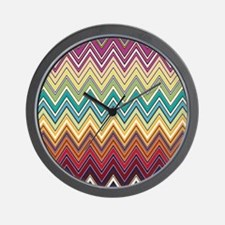 missoni-tall Wall Clock
