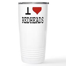 i love redheads Travel Mug
