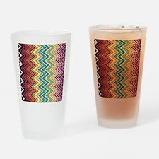 zigzag-horizontal Drinking Glass