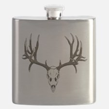 Buck deer skull Flask