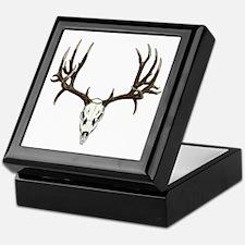 Buck deer skull Keepsake Box