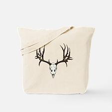 Buck deer skull Tote Bag