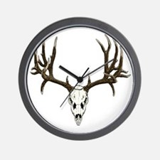 Buck deer skull Wall Clock