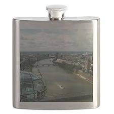 A London Eyes View Flask