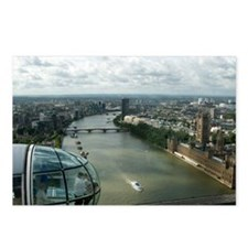 A London Eyes View Postcards (Package of 8)