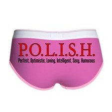 Polish Letters Mug Women's Boy Brief