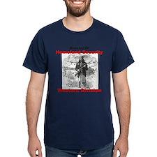 Geronimo - Fighting Terrorism Since 1492 T-Shirt