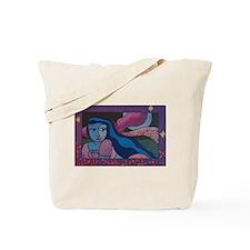 Moon Bather Tote Bag