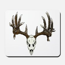 Skull hunter whitetail  buck Mousepad