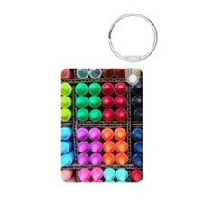 Flip flops Coloured crayon Keychains