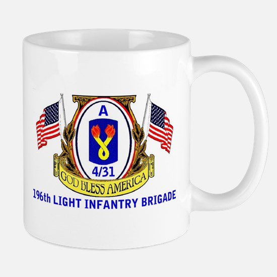 A 4/31 196th LIB Mug
