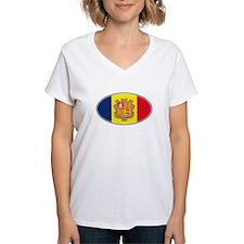 Andorran Oval Flag Shirt