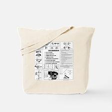 survival shirt, front Tote Bag