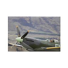 Supermarine Spitfire - British an Rectangle Magnet