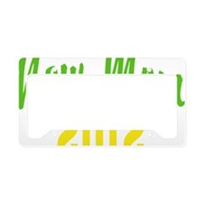 mother62012Wcolored License Plate Holder
