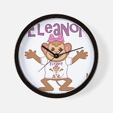 eleanor-g-monkey Wall Clock