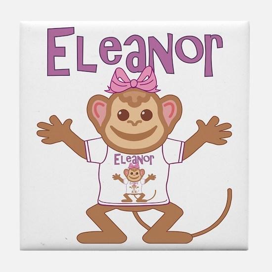 eleanor-g-monkey Tile Coaster