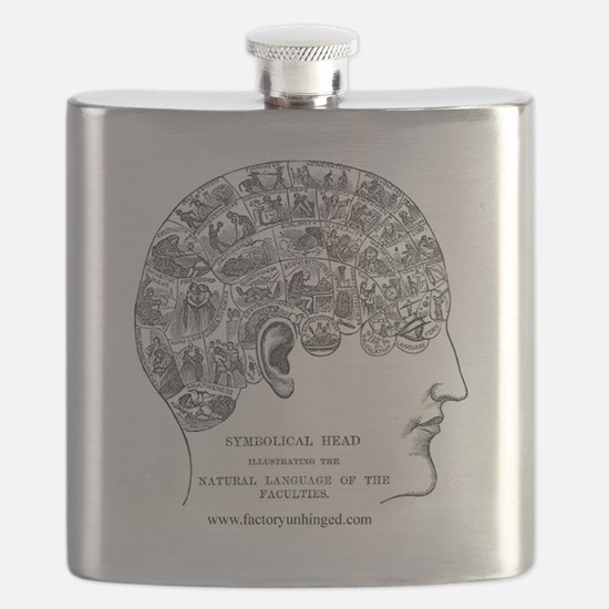 Symbolical Head Flask