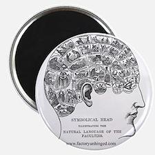 Symbolical Head Magnet