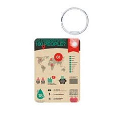 The Miniature Earth poster Keychains