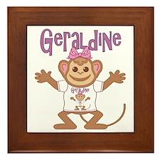 geraldine-g-monkey Framed Tile