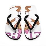 Erica monkey Flip Flops