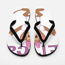 erica-g-monkey Flip Flops